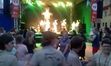 Występ góralskiej kapeli z Koniakowa (ŚDM)