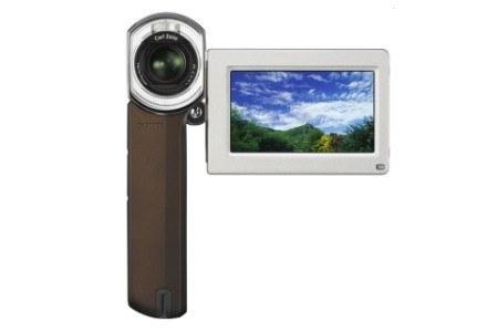 Wyświetlacz zamontowany w kamerce jest niewielki, ale dotykowy. Dobrze sprawdza się w swojej roli. /materiały prasowe