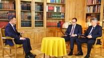 Wywiad prezydenta Andrzeja Dudy dla Interii