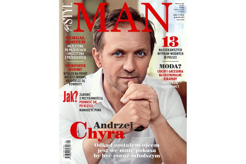 Wywiad ukazał się w magazynie Twój STYL Man /Twój Styl