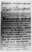 """""""Wyzwolenie"""" Warszawy"""
