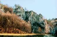 Wyżyna Krakowsko-Częstochowska, zamek w Bobolicach /Encyklopedia Internautica