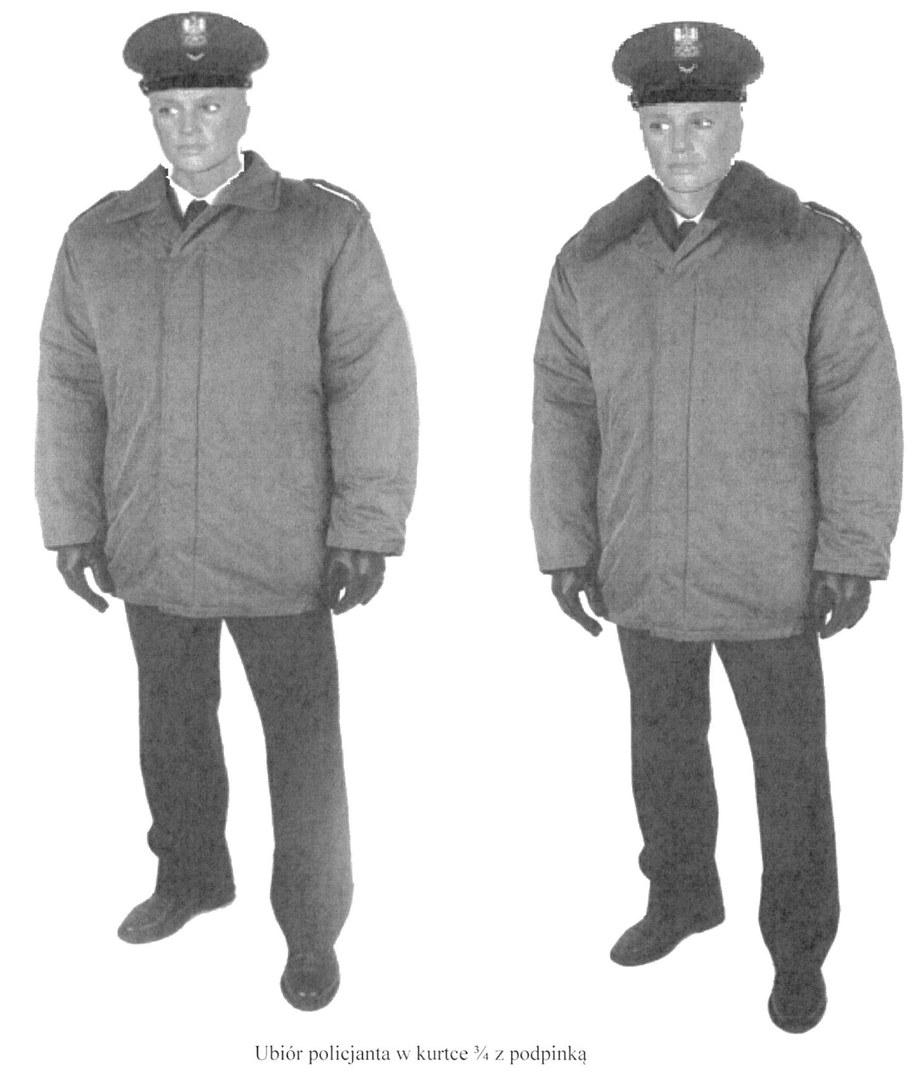 Wzór nowego ubioru /MSWiA