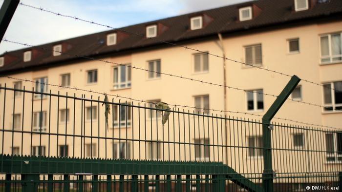 Wzorcowy ośrodek dla uchodźców w Bambergu /H.Kiesel  /Deutsche Welle