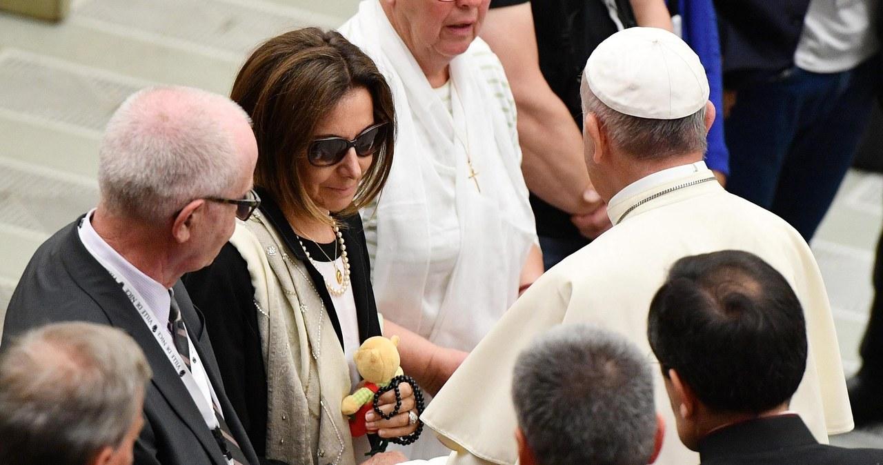 Wzruszające spotkanie papieża z rodzinami ofiar zamachu w Nicei