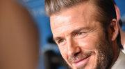 Wzruszony David Beckham