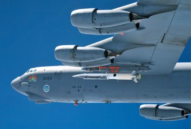 X-51A Waverider przed startem. Fot. U.S. Air Force /materiały prasowe