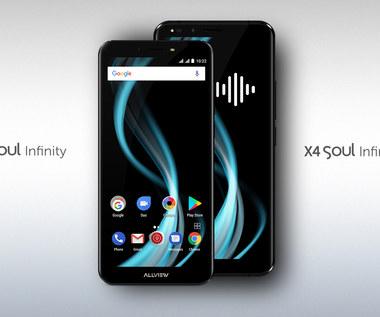 X4 Soul Infinity i X4 Soul Infinity Plus - smartfony Allview ze sztuczną inteligencją