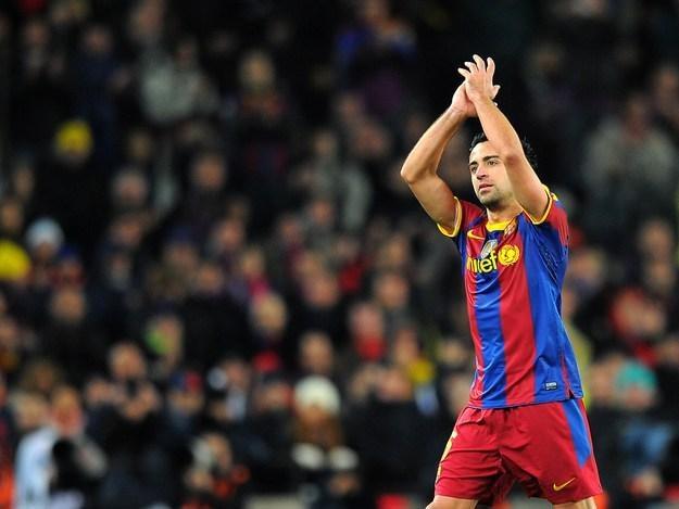 Xavi Hernandez zagrał dla Barcy już po raz 549. /AFP