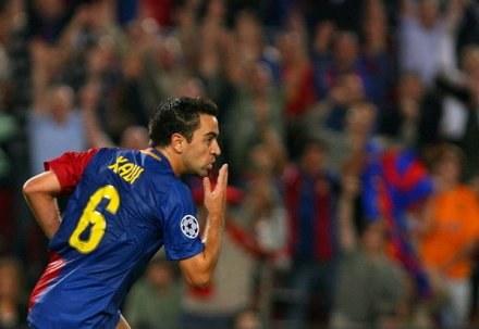 Xavi podpisał nowy kontrakt z Barceloną. /ASInfo/INTERIA.PL