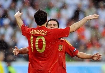 Xavi z otwartymi rękoma powitałby Fabregasa w Barcelonie /AFP
