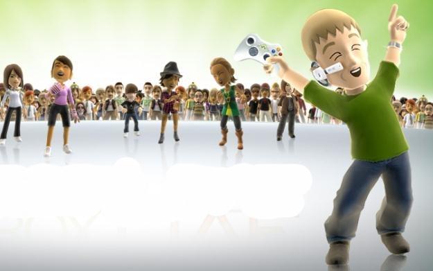Xbox Live - motyw graficzny /Informacja prasowa
