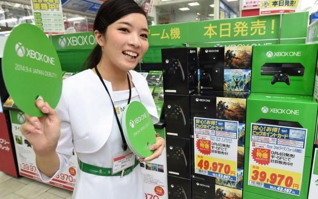 Xbox One - co musiałby zrobić Microsoft, żeby przyciągnąć uwagę japońskich graczy? /AFP