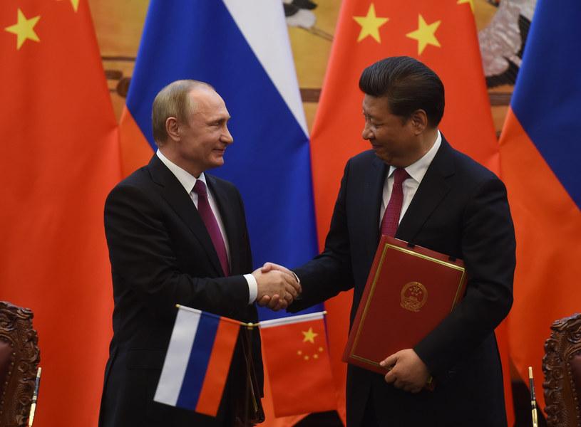 Xi Jinping i Władimir Putin /AFP
