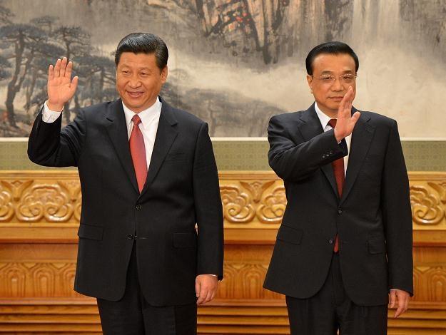 Xi Jinping (z lewej) i Li Keqiang /AFP