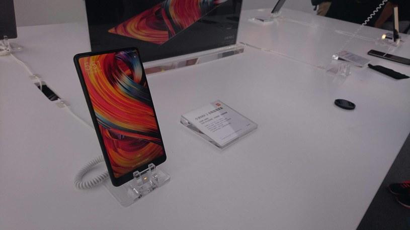 Xiaomi Mi Mix 2 - zdjęcie z premiery w Pekinie /INTERIA.PL