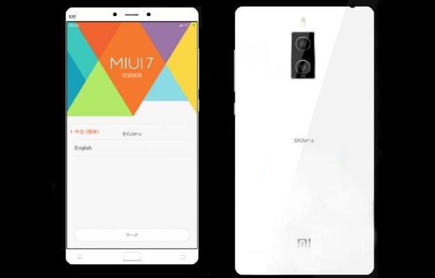 Xiaomi Mi Note 2 /materiały prasowe