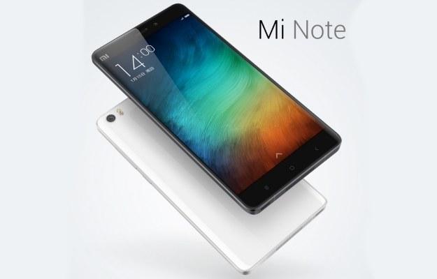 Xiaomi Mi Note /materiały prasowe