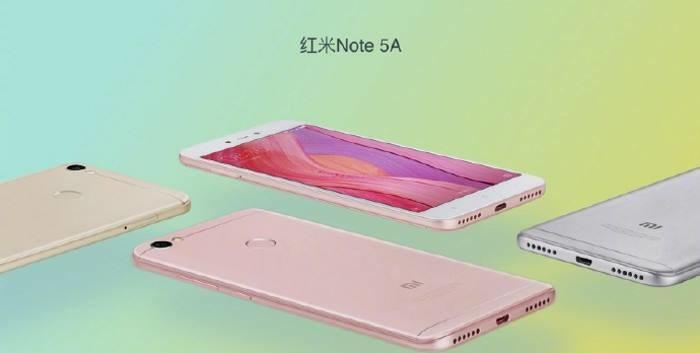 Xiaomi Redmi Note 5A /materiały prasowe