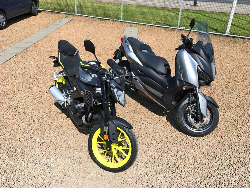 Yamaha MT-125 i X-Max 125 /INTERIA.PL