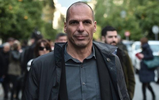 Yanis Varoufakis - minister finansów w Grecji /AFP