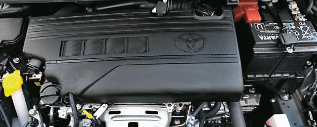 YARIS: 1.33 Dual VVT-i jest oszczędny, ale ma problem ze zbieraniem się nagarów. /Motor