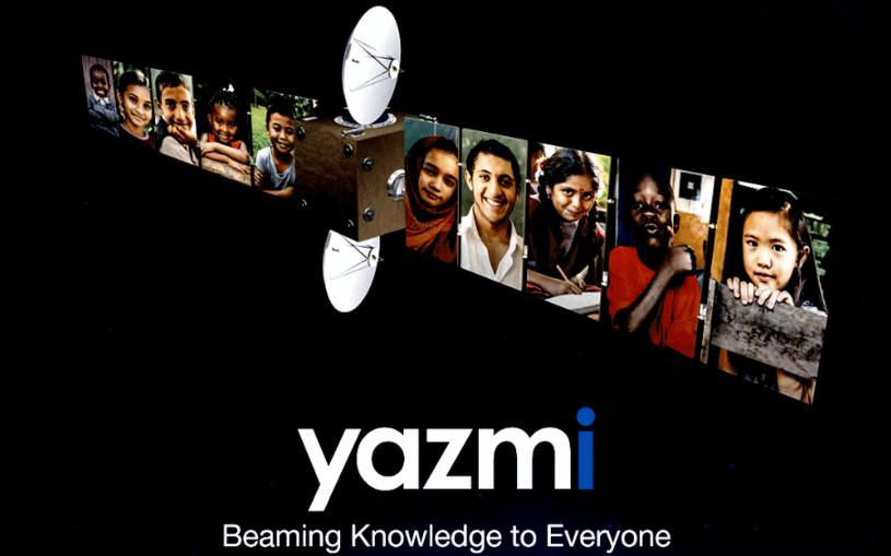 Yazmi - sposób na tanią edukację drogą satelitarną /materiały prasowe