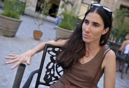 Yoani Sanchez, zdjęcie zrobione w Hawanie /AFP