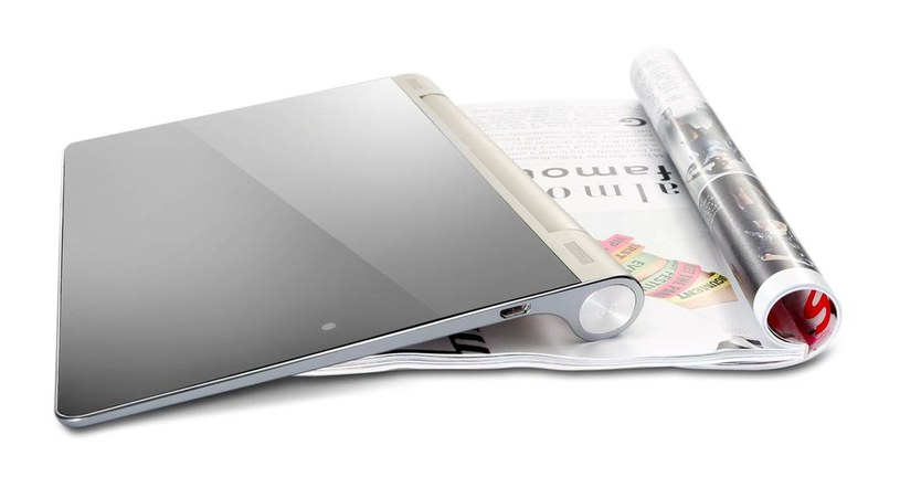 Yoga Tablet i Tryb Trzymaj w dłoni - wygodne czytanie /materiały promocyjne