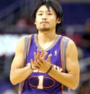 Yuta Tabuse zadebiutował w barwac Suns /AFP