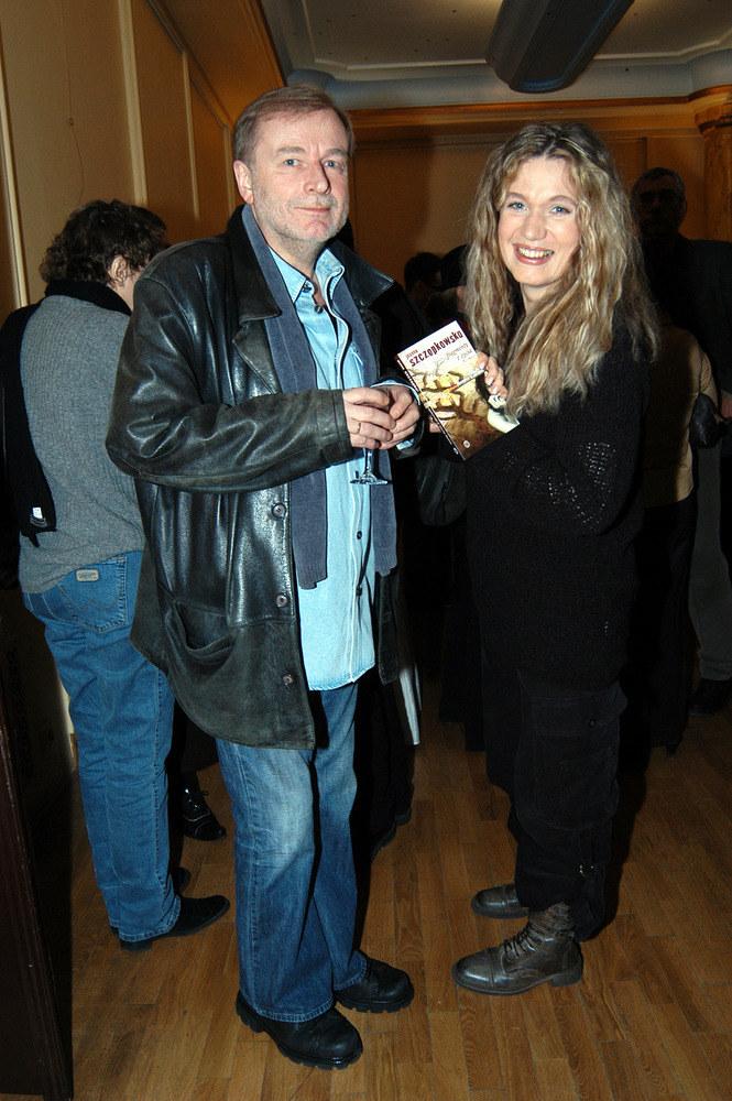 Z byłym mężem Januszem Andermanem, w 2004 roku  /Piotr Zawada /AKPA