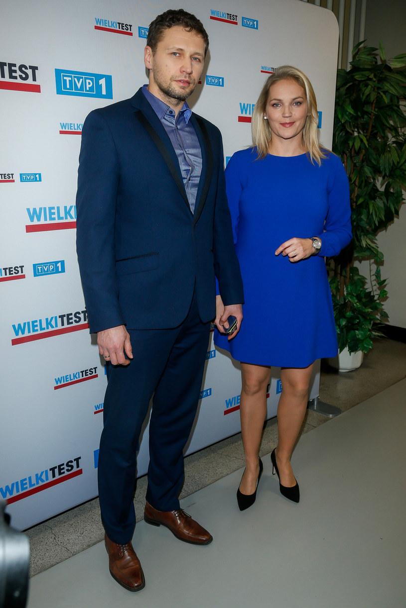 Z mężem Michałem Chorosińskim /materiały prasowe