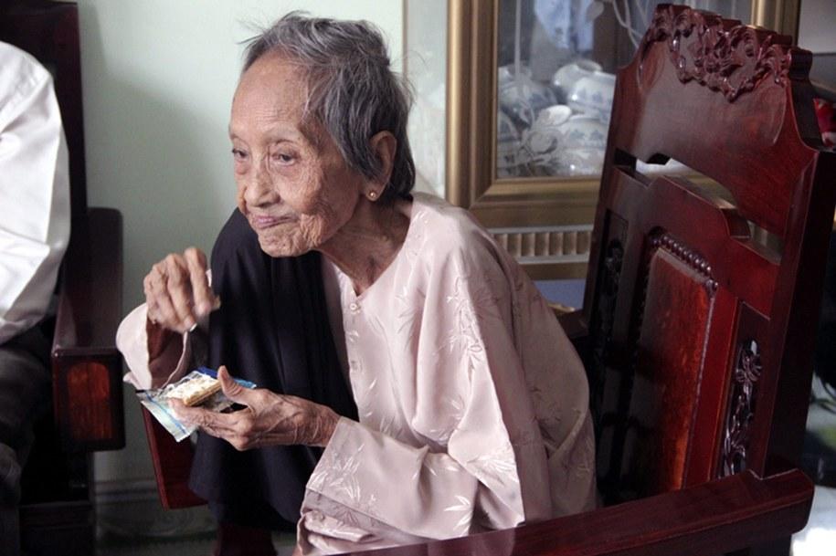 Z najnowszych danych wynika, że obecnie w japonii mieszka ok. 59 tys. osób, które mają co najmniej 100 lat /Ky Luc Viet Nam Vietkings   /PAP/EPA