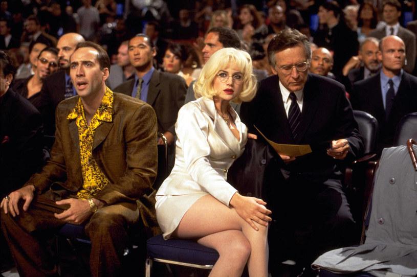 """Z Nicolasem Cagem w scenie z """"Oczu węża"""" /materiały prasowe"""