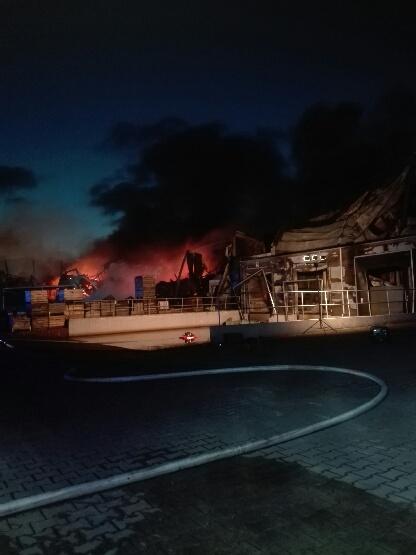 Z ogniem walczyło 30 zastępów straży pożarnej /Gorąca Linia RMF FM /Gorąca Linia RMF FM