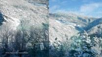 Z okien ekspresu lodowcowego