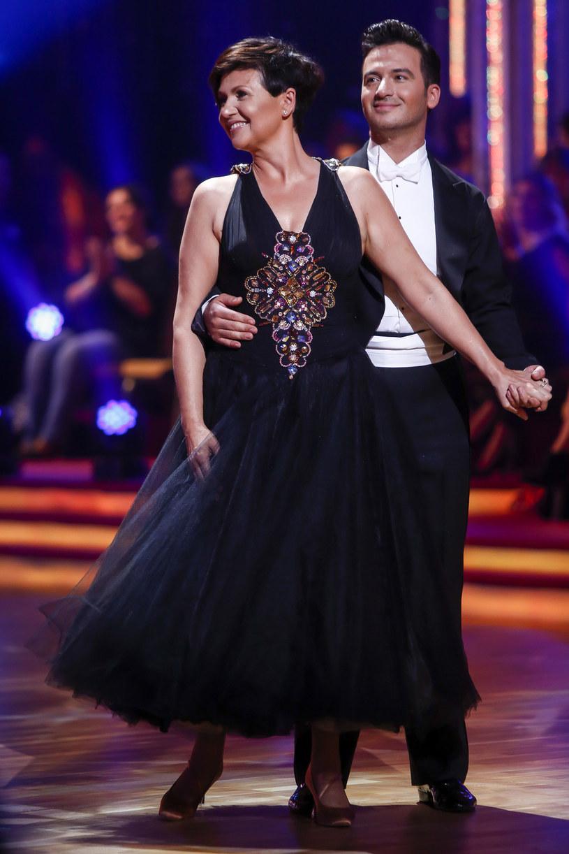 Z partnerem tanecznym, Stefano Terazzino /AKPA