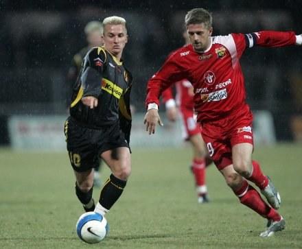 Z prawej Marcin Malinowski, FOT.Michał Nowak /Agencja Przegląd Sportowy