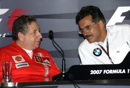 Z prawej Mario Theissen /AFP