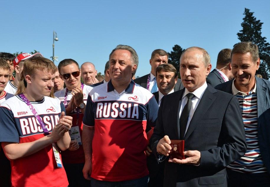 Z prawej: Prezydent Rosji Władimir Putin /ALEKSEY DRUGINYN / RIA NOVOSTI POOL /PAP/EPA