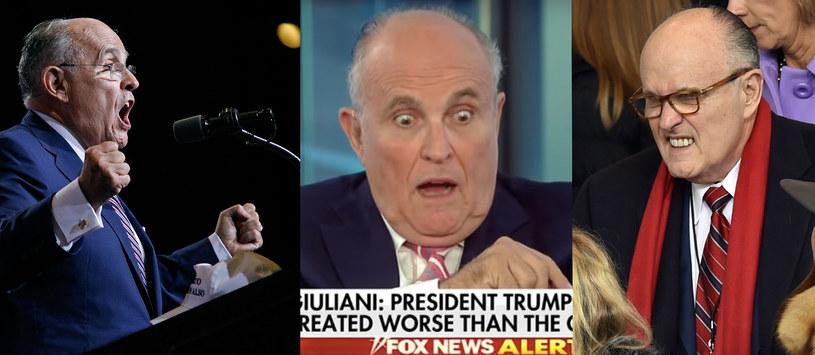 Z Rudym Giulianim nie ma nudy /AFP/Fox News /