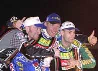 Z trójki najlepszych żużlowców ubiegłorocznej GP, tylko Gollob nie dotarł w Hamar do finału