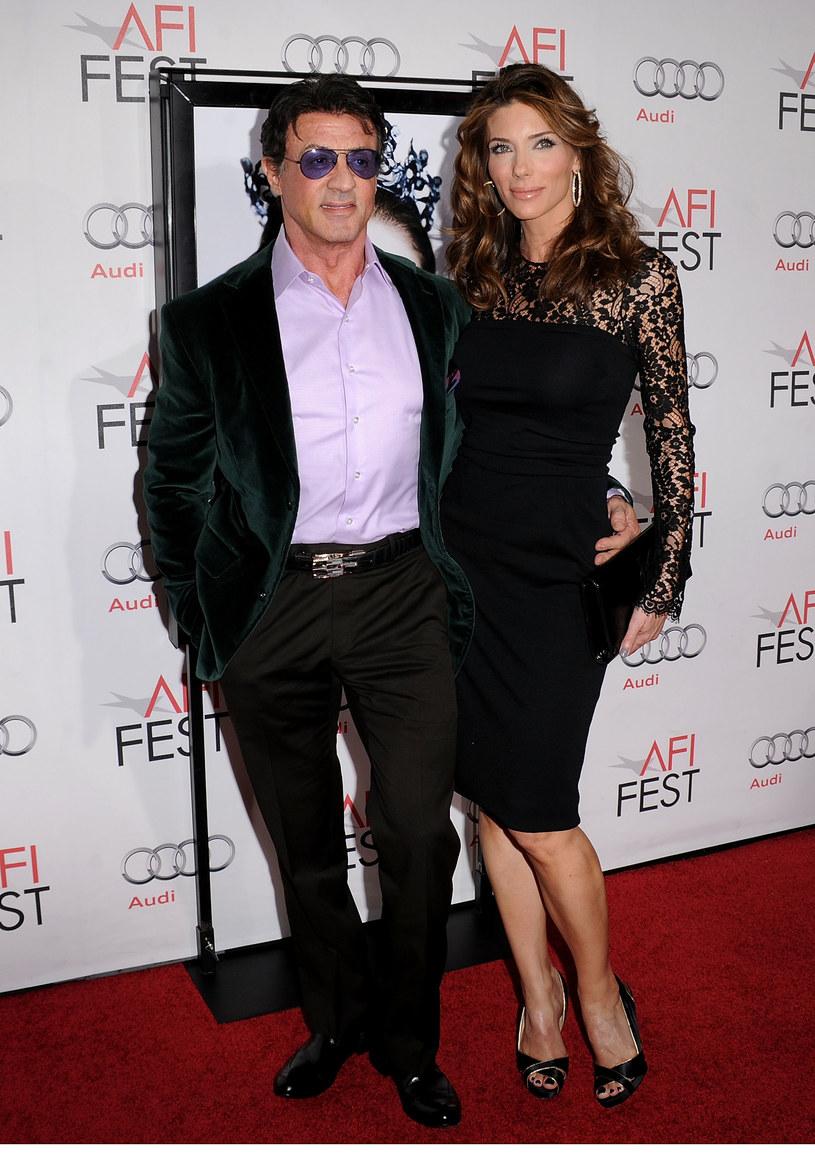 Z trzecią żoną, Jennifer Flavin  /Getty Images