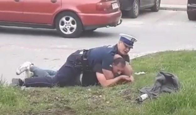 Z tym policjantem nie ma żartów /