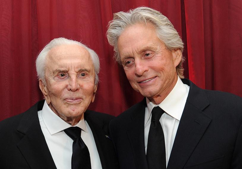 Z ukochanym synem, Michaelem, również legendą kina /Michael Buckner  /Getty Images