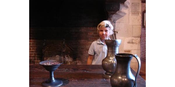 W kuchni Leonarda... byl wegetarianinem.