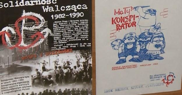 Z wystawy o Solidarności Walczącej prezentowanej podczas Forum Ekonomicznego w Krynicy /INTERIA.PL
