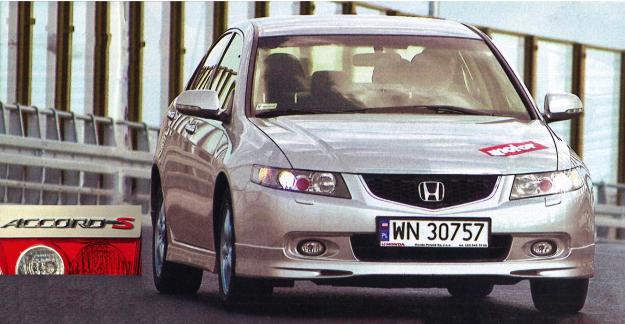 Z zewnątrz Type-S praktycznie nie różni się od zwykłego Accorda. /Motor