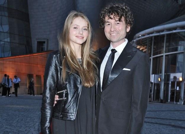Z żoną Agatą Paskudzką / fot. Andreas Szilagyi /MWMedia