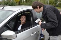 Za bezpieczną jazdę gadżety od RMF MAXXX w Kielcach